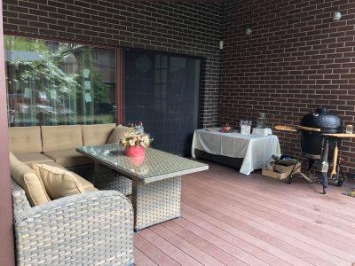 terasos baldai kampas Sočiai pailsėk