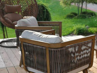 aliuminio baldai Elegancija