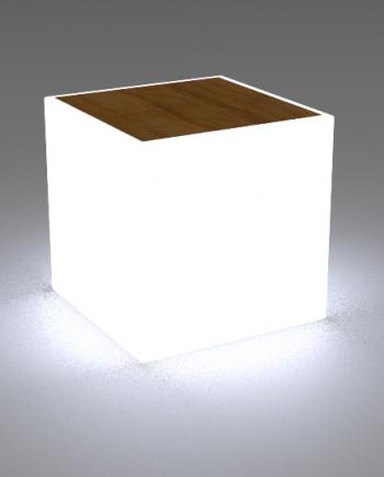 Illuminated coffee table
